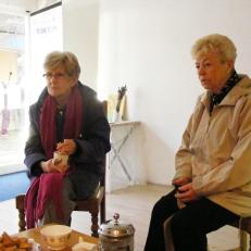 Eileen and Ellen @ Tea Party 2