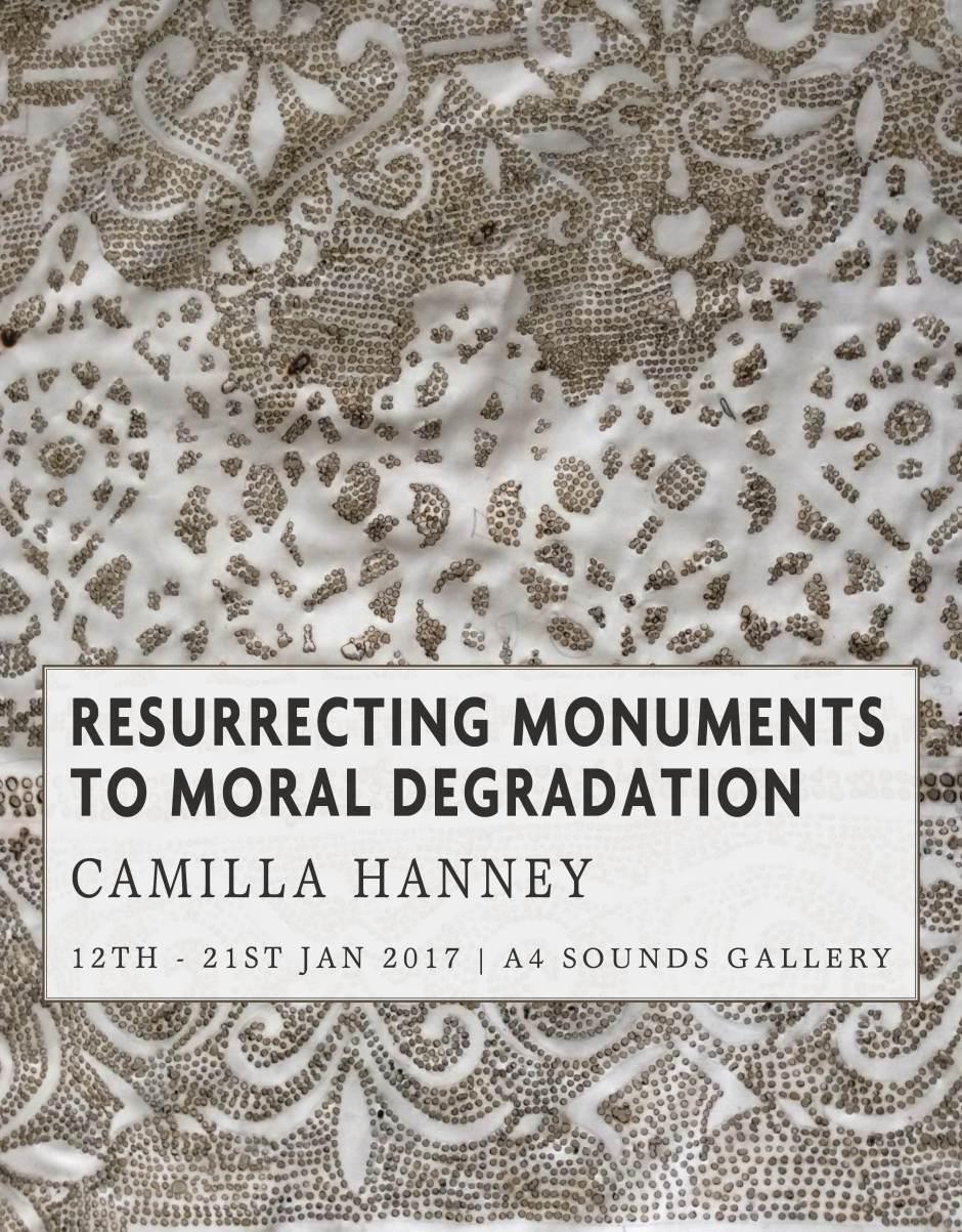 Camilla Hanney Exhibition Poster.