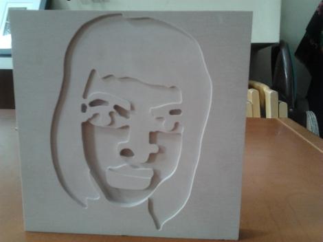 lisa crowne avatar // cnc router // donal holland // engineering // illustration //art